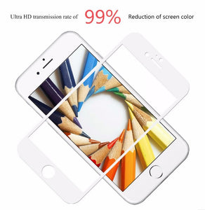 Apple iPhone 6 & 6S 3D Full Body Tempered Glass Screen Protector by Chevron [With Installation Kit]