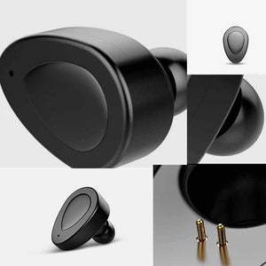 Chevron Evolve Truly Wireless Bluetooth Earphone With Mic, 20+ Hours PlayBack & Deep Bass Stereo Sound (Black)