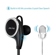 Chevron Wireless Bluetooth Earphone with Stereo Sound and handsfree mic for all mobiles [Bluetooth Headset Headphone]