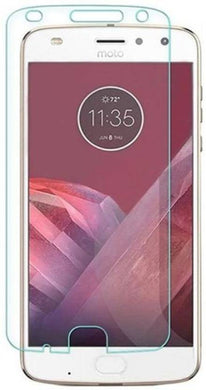 Chevron Tempered Glass Screen Protector Guard For Moto Z2 Play