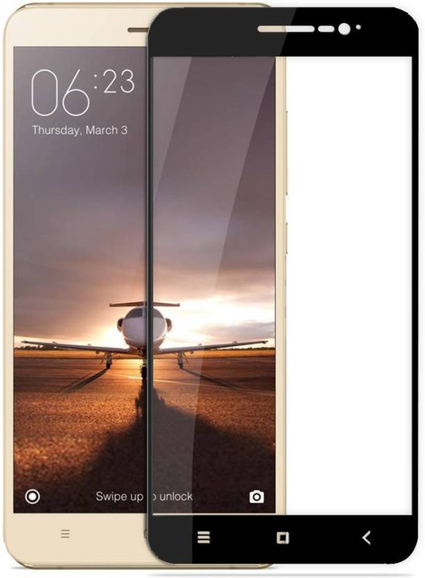 Chevron Tempered Glass Screen Protector For Mi Redmi Note 3