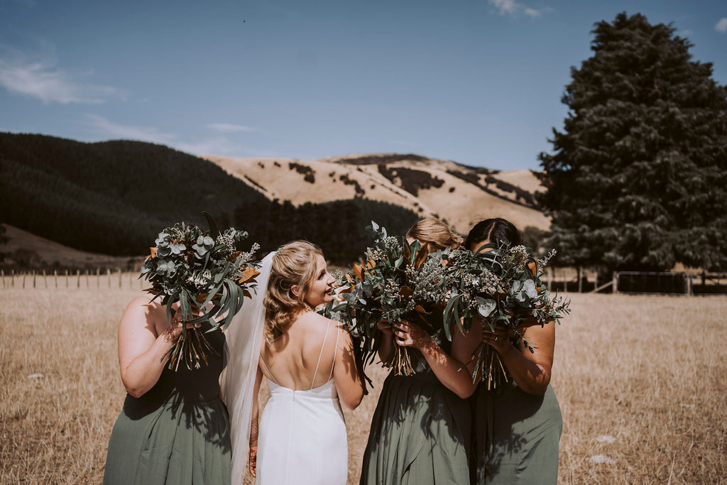 The Wild Flower Weddings - Bridesmaids Bouquets