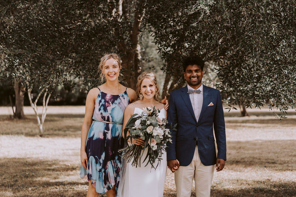 The Wild Flower Weddings - Anna, Ankit + Madeleine