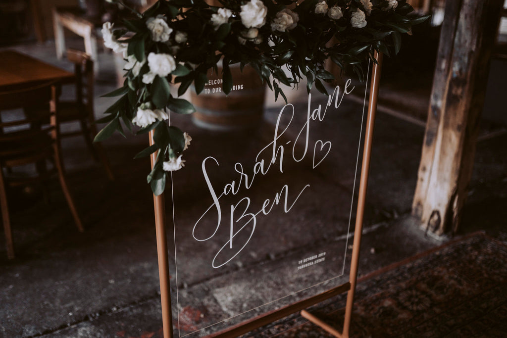 The Wild Flower Weddings - Sarah-Jane and Ben
