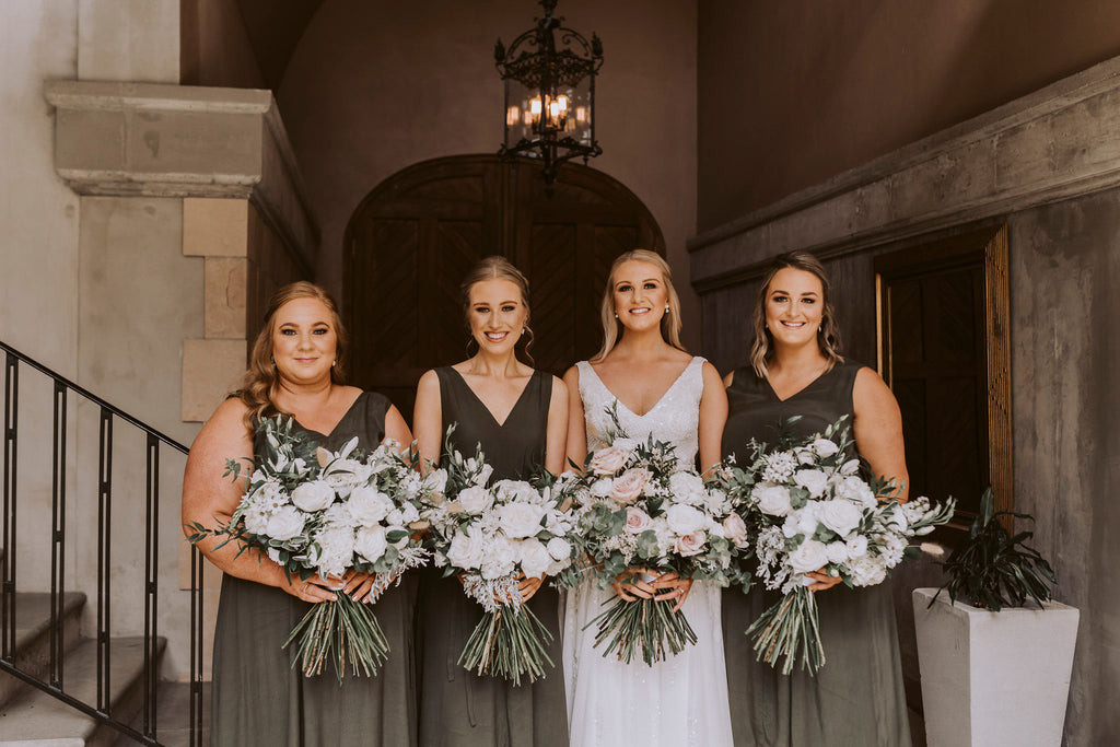 The Wild Flower Weddings - Bride and Bridesmaids Bouquets