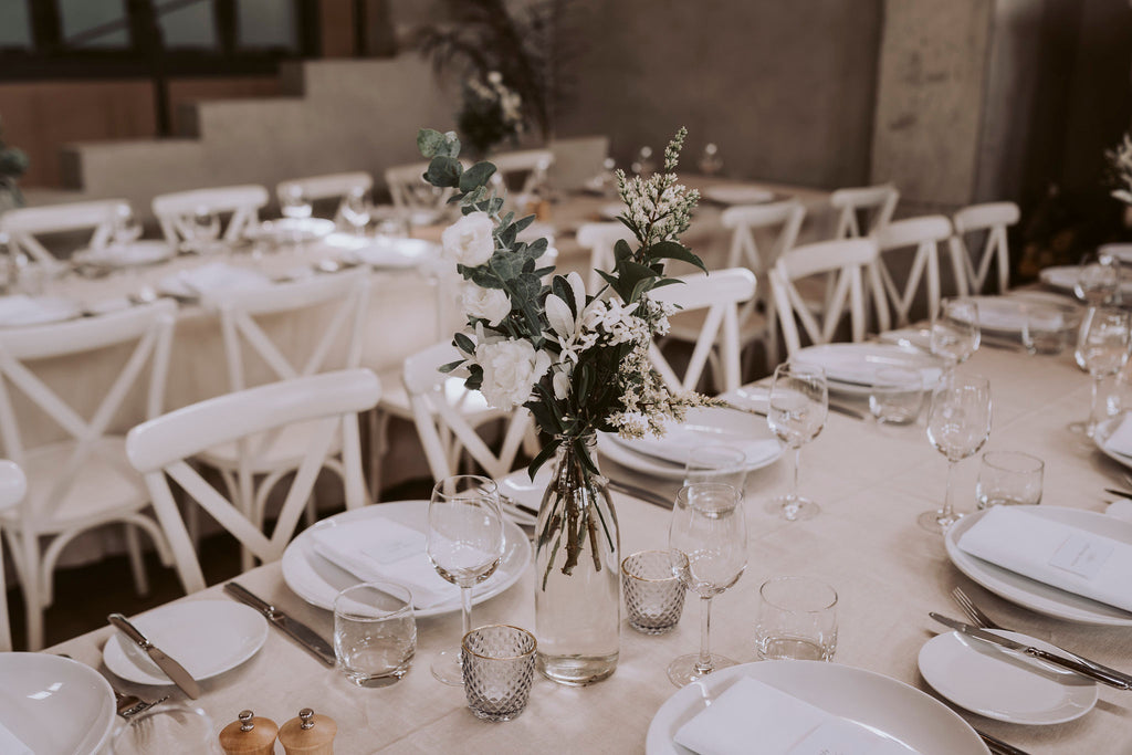 The Wild Flower Weddings - Reception Floral Styling