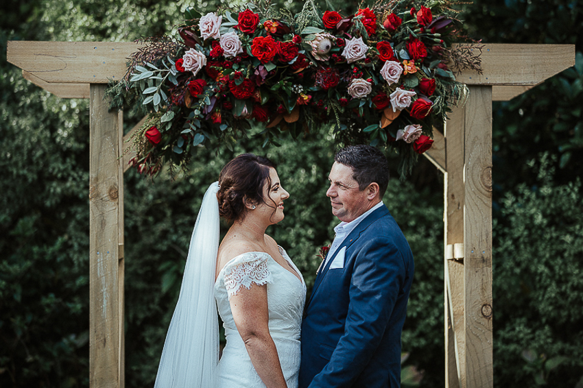 The Wild Flower Weddings-Kylie and Mike-Flower Arch
