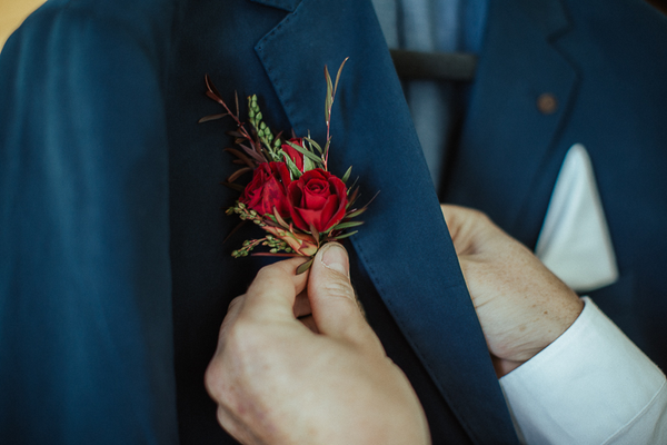 The Wild Flower Weddings-Kylie and Mike-Buttonhole Flowers
