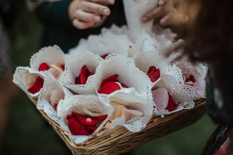 The Wild Flower Weddings-Kylie and Mike-Rose Petals