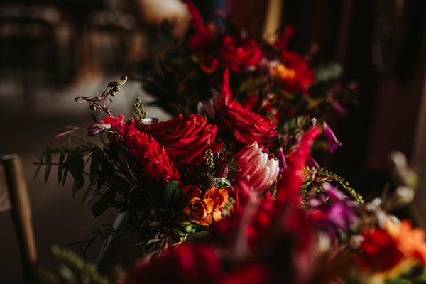 The Wild Flower Weddings - Noon and Craig - Flower Bouquets