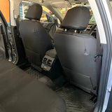 2019 subaru outback covers map pockets on back of front seats