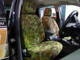 FORD RANGER PX1 XL, XLT SUPER CAB CANVAS SEAT COVERS - 07/2011 - 05/2015