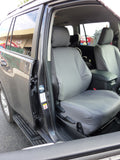 PRADO FRONTS FOR GX & GXL GREY DENIM SEAT COVERS