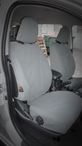 MITSUBISHI TRITON MQ, MR MY16 EXCEED CANVAS SEAT COVERS - 03/2015+
