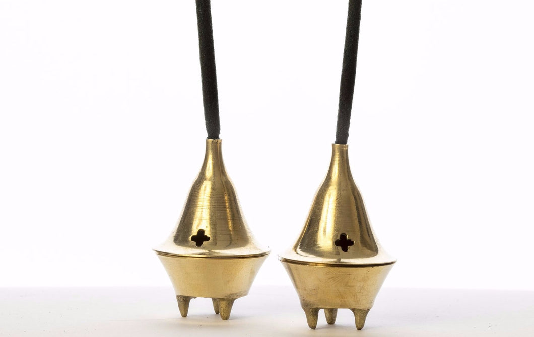 Brass Incense Cone Burner