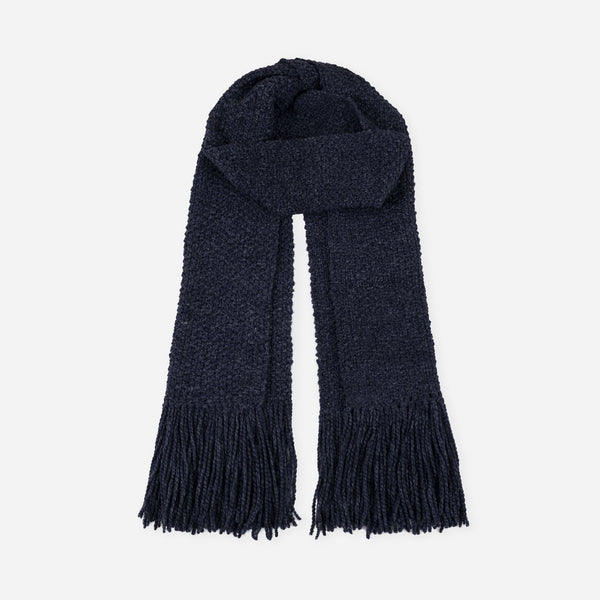 La Paz Long Scarf Navy