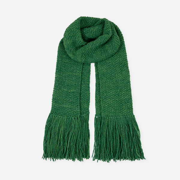 La Paz Long Scarf Grass Green