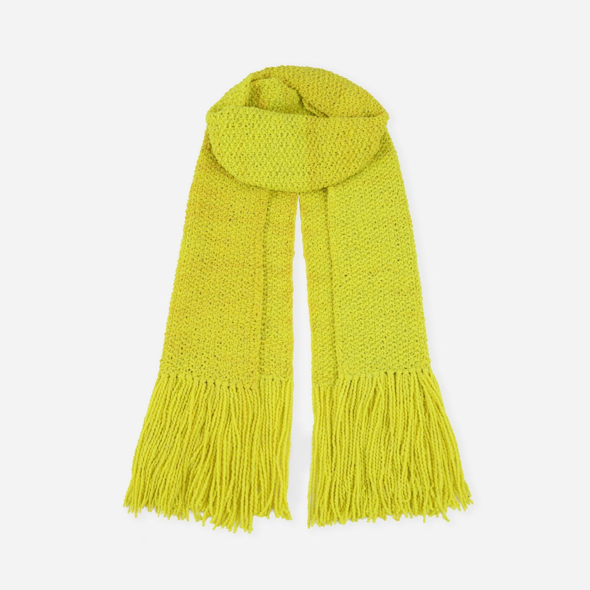 La Paz Long Scarf Yellow