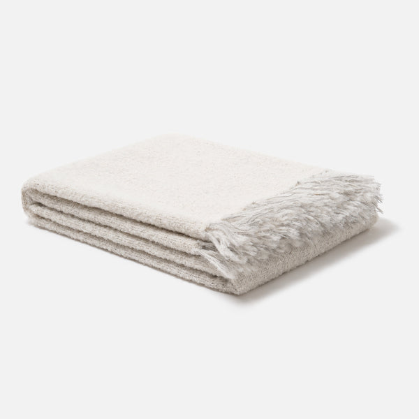 Bouclé Alpaca Throw
