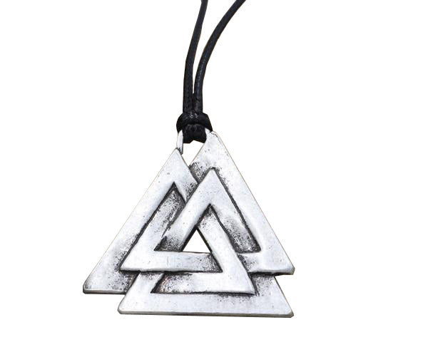 valknut s necklace viking warrior symbol necklace heart of vikings