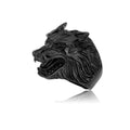 Fenrir's Growl™ - Viking Steel Wolf Ring