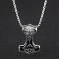Mjölnir's Shine™ - Thor's Hammer Viking Necklace