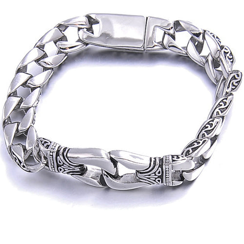 Bones of Steel™ - Steel Viking Chain Link Bracelet