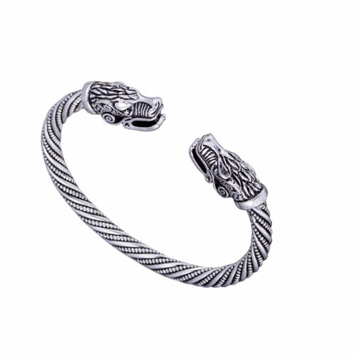 Geri and Freki's Watch™ - Viking Odin Wolf Bracelet