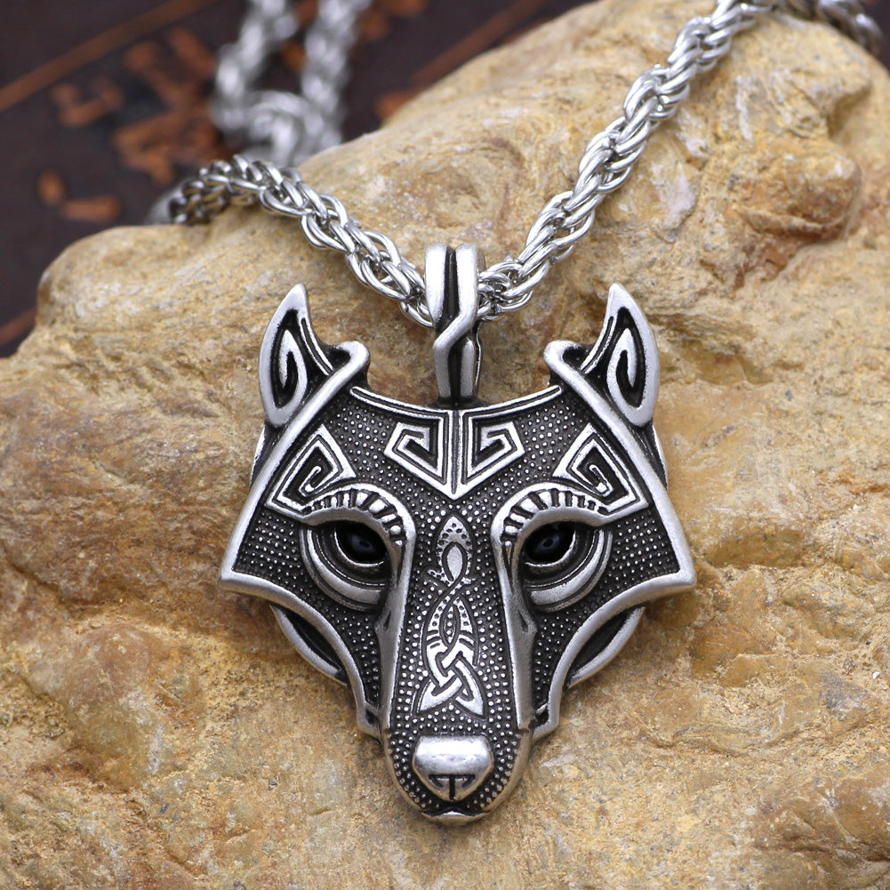 Geri S Necklace Viking Wolf Necklace Heart Of Vikings