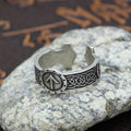 The God Tyr™ - Viking Runes Ring
