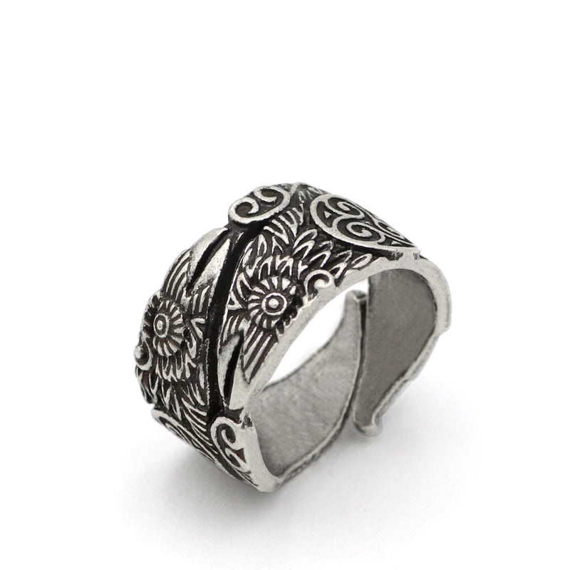 Huginn's and Muninn's Beaks™ - Viking Raven Ring