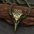 Muninn's Skull™ - Viking Raven Necklace