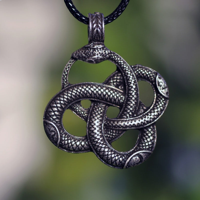 Snake-in-the-Eye™ - Viking Snake Necklace