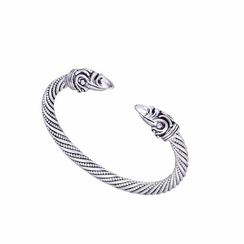 Huggin's and Muninn's Message™ - Vikings Odin Raven Cuff Bracelet