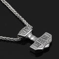 Mjölnir's Call™ - Stainless Steel Viking Hammer Ring