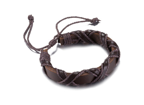 Viking's Leather Band™ - Leather Viking Bracelet
