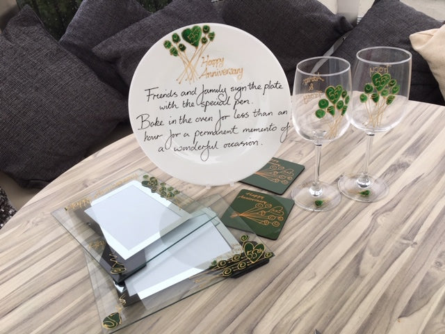 55th Emerald Wedding Anniversary Gifts