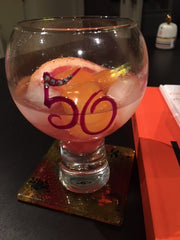 50th Birthday Gin & Tonic Glass