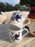 45th Anniversary China Mugs