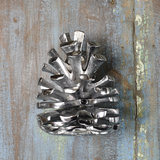 Pine Cone Door Knocker Chrome