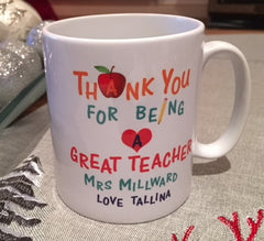 Teacher Ceramic Mug