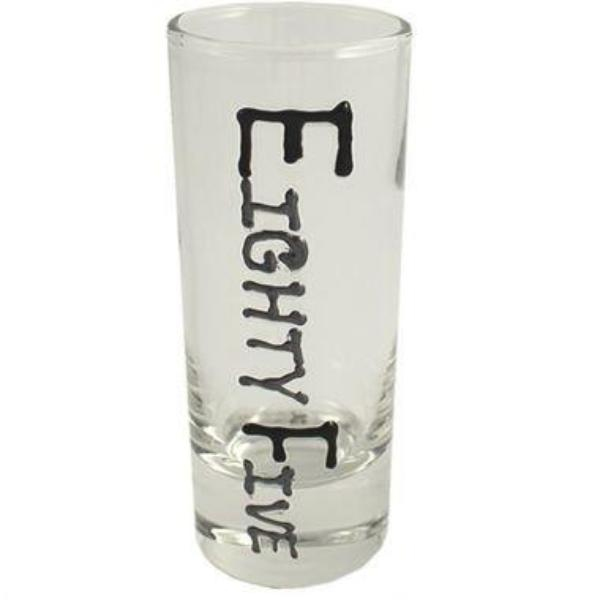 85th Birthday Gift Shot Glass