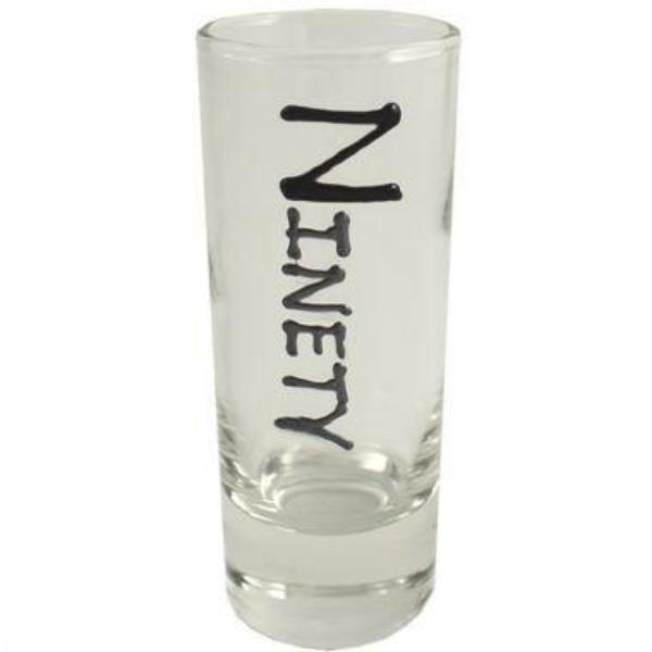 90th Birthday Gift Shot Glass