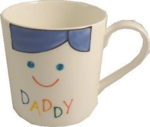 Daddy Design Gift China Mug: (Cami Brights)