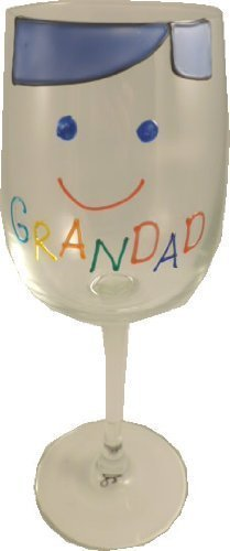 Grandad Design Gift Wine Glass: Cami Brights