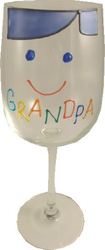 Grandpa Design Gift Wine Glass: Cami Brights