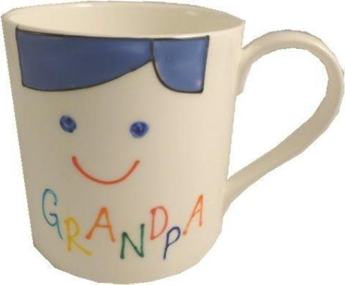 Grandpa Design Gift China Mug: (Cami Brights)