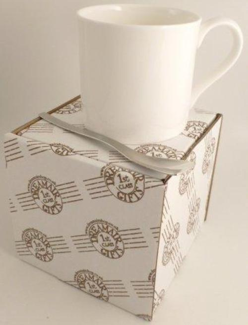 China Mug & Spoon Box