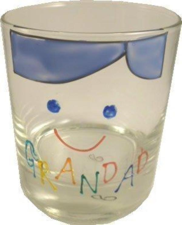 Grandad Whisky Glass Cami Brights