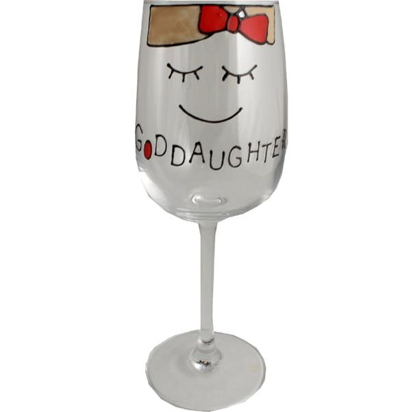 Goddaughter Wine Glass (Cami)